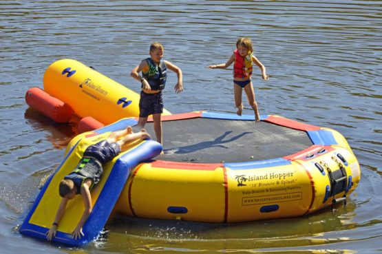 13 foot bounce & splash water bouncer water park