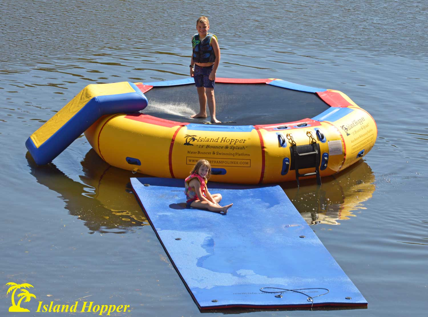 13 Bounce N Splash Water Park Island Hopper