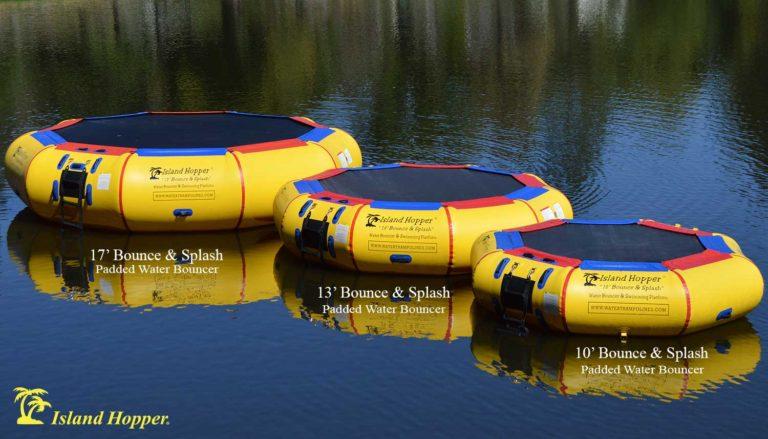 Island Hopper water bouncer series