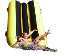 Water Trampoline Slide