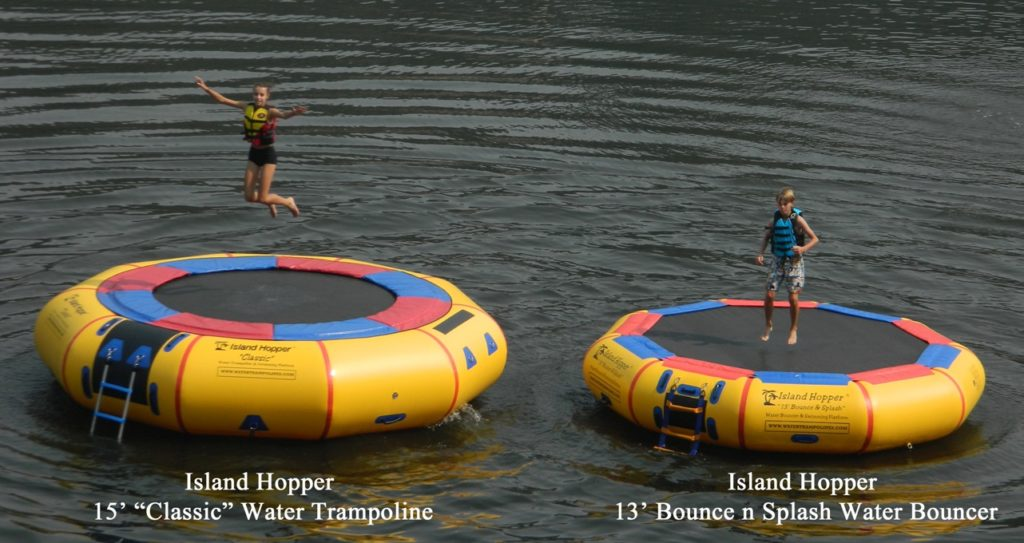 Water Trampoline Comparison