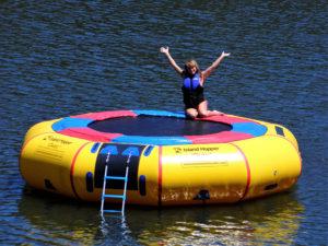 15 Foot Island Hopper Classic Water Trampoline