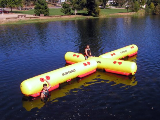 Island Hopper Island Runner Inflatable Water Cross