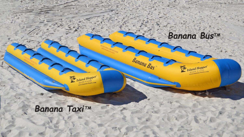 Banana Bus VS Banana Taxi