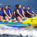Island Hopper 12 Person Inflatable Banana Taxi