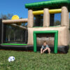 Island Hopper Fort All Sport Bounce House With Soccer Shot