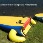 Island Hopper Gator Monster Water Trampoline Slide Attachments