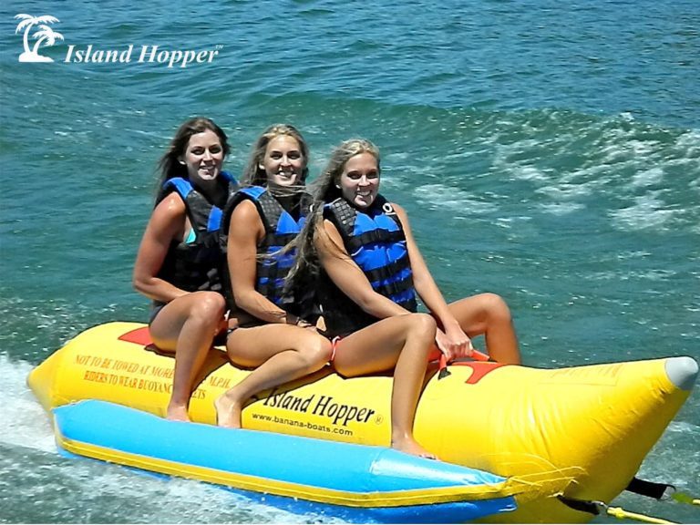 Island Hopper 3 Person Inflatable Banana Boat