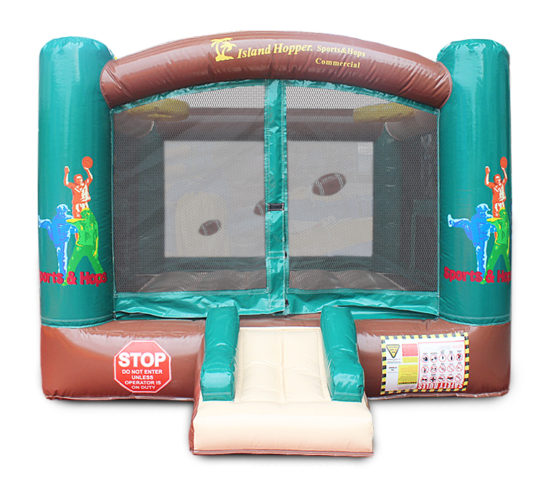 Island Hopper Sports N Hop Inflatable Bounce House