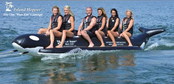 Island Hopper Whale Rider Inflatable Banana Boat