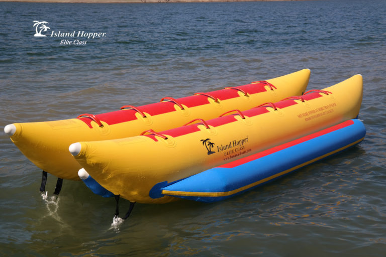 Island Hopper 10 Person Inflatable Banana Boat