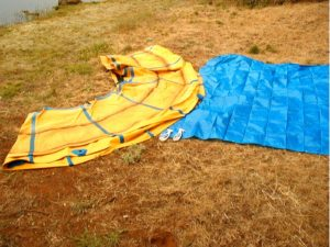 Water Trampoline Disassembly