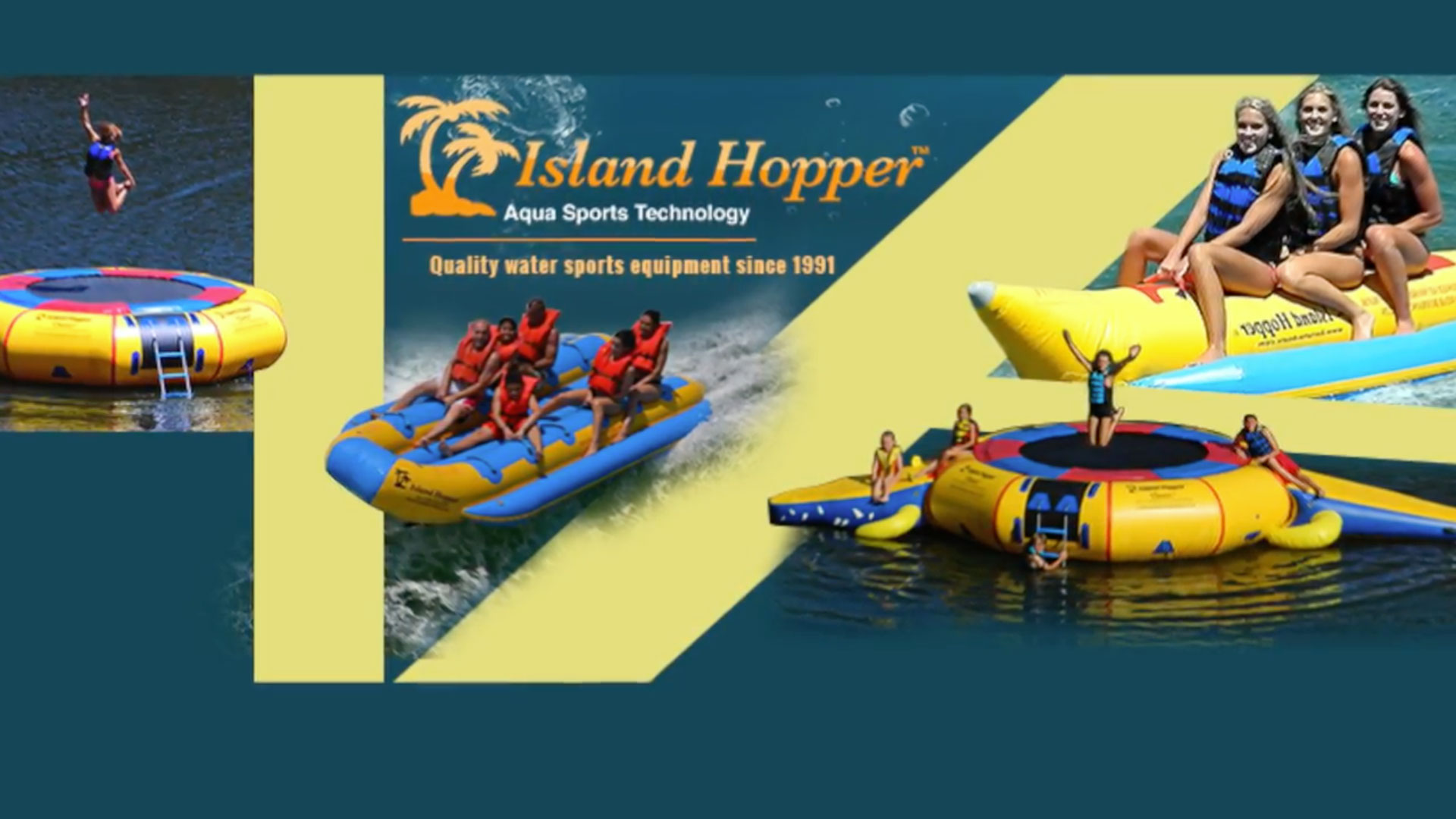 Water Sports Trampolines & Tubes