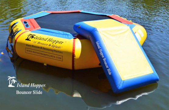 Island Hopper Bouncer Slide