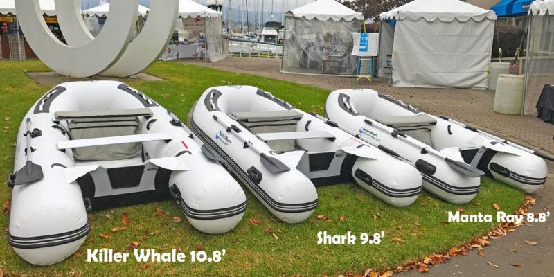 Sport-boat-aluminum-floor-model-display-with-text